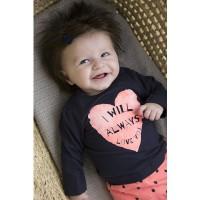 Foto van 2 pce babysuit skirt/legging