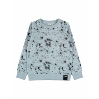 Foto van NAME IT - NKMBAVE LS SWEAT UNB (Dusty Blue)