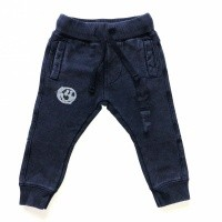 Foto van Born to be Famous-Navy Acid Wash Broek