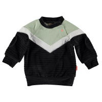 Foto van Bess Sweater Velvet Colorblock