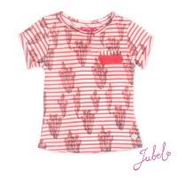 Foto van Jubel T-shirt k/m streep/AOP La Isla