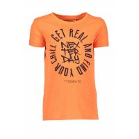 Foto van T&v neon t-shirt 'GET REAL'
