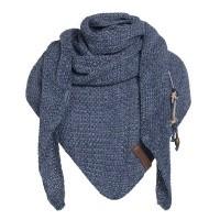 Foto van Knitfactory Coco shawl Jeans/Indigo