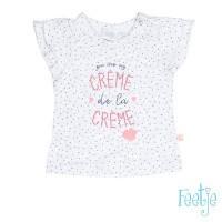 Foto van Feetje T-shirt k/m creme Bisou for you