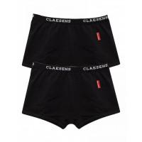 Foto van Claesens Boxershort Zwart 2-pack