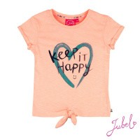 Foto van T-shirt Keep It Happy - Botanic Blush