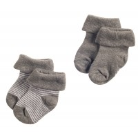 Foto van Noppies Socks 2pack Guzz Antracite