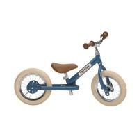 Foto van Trybike Steel Vintage Blue twee en/of driewieler