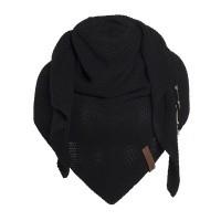 Foto van Knitfactory Coco shawl in Zwart