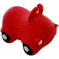 Foto van Kidzz Farm Jumping Car (rood of zwart)