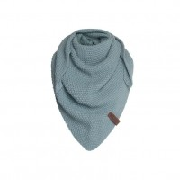 Foto van Knitfactory Junior Shawl Stone Green
