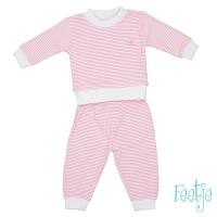 Foto van Feetje Pyjama Wafel Roze 92 t/m104