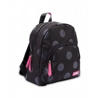 Foto van Zebratrends Girls Rugzak Glitter Dot Black