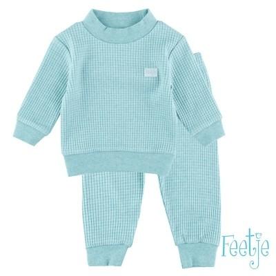 Feetje Pyjama Wafel Mintgroen