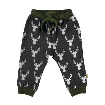 Pants AOP Deer Anthracite
