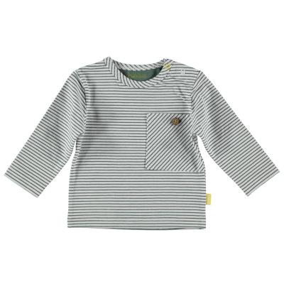 Bess Shirt l.sl.Striped pocket