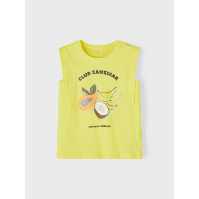 NAME IT - NKFJACKLIN SL TOP BOX (Lemon Verbena)