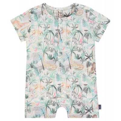 B Playsuit ss Seekonk aop