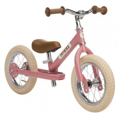 Trybike Steel Vintage Pink Loopfiets