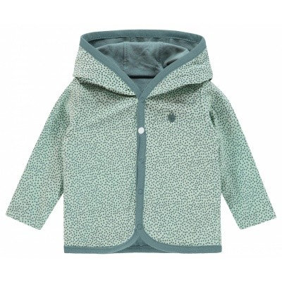 Noppies Uni Reversible Vestje Haye-Grey Mint