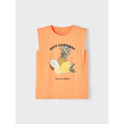 NAME IT - NKFJACKLIN SL TOP BOX (Cantaloupe)