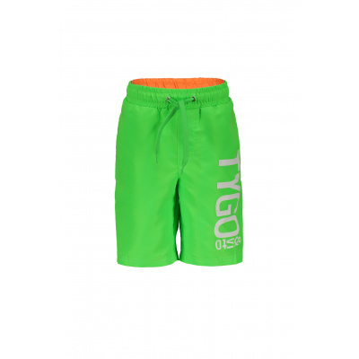 T&v Neon boardshort (Green gecko)