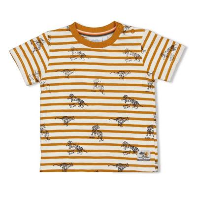 Feetje T-shirt streep - Happy Camper