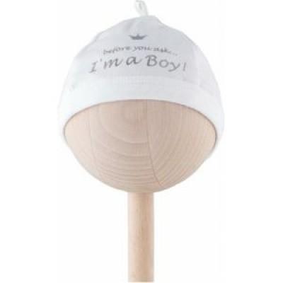 Bam Bam mutsje I'm a Boy