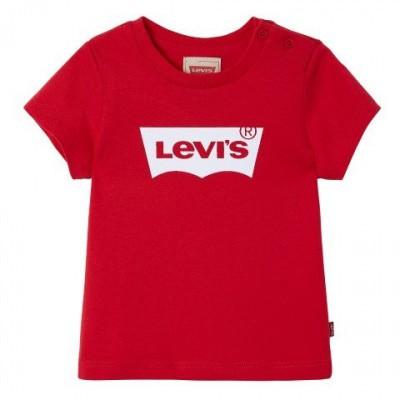 Levi's T-shirt Rood