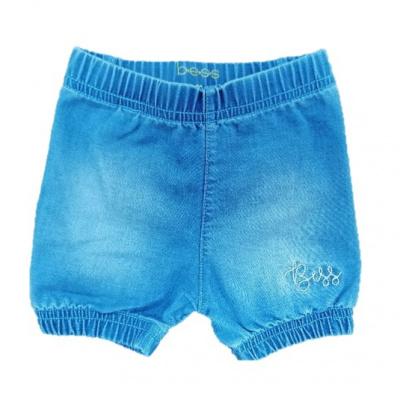 Bess Shorts Denim Ruffles
