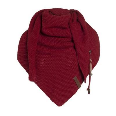 Knitfactory Coco shawl bordeaux