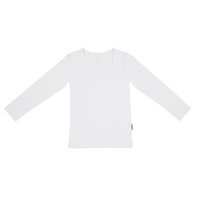 Claesens Girls T-shirt Longsleeve White