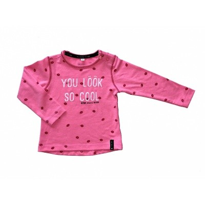 Born To Be Famous Longsleeve Neon Pink
