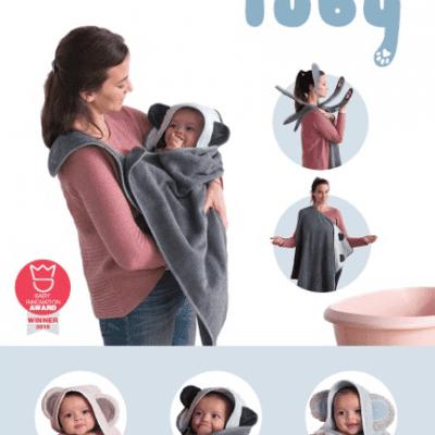 Tuby- De handige badcape
