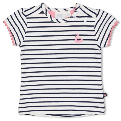 Feetje T-shirt streep - Seaside Kisses