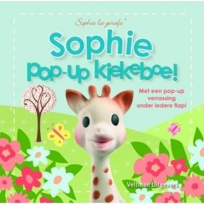 Sophie de Giraf Boekje Pop-Up Kiekeboe