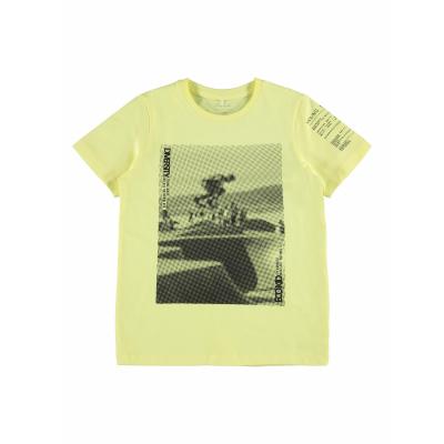 NAME IT -NKMBAILO SS TOP BOX (Yellow Pear)