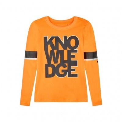 Name it NKMSONO Longsleeve Orange Pop