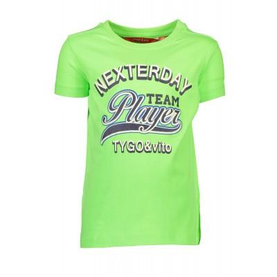 T&v neon t-shirt 'TEAM PLAYER'