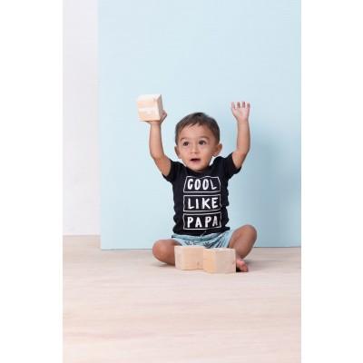 Feetje T-shirt k/m cool like papa Palmtrees