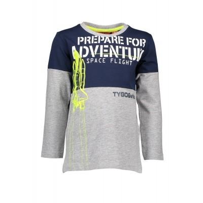 T&v t-shirt LS cut&sewn PREPARE FOR ADVENTURE