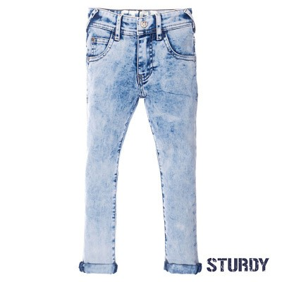 Sturdy Light blue slim fit denim