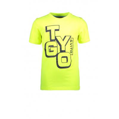 T&v Neon T-shirt LOGO (Safety yellow)