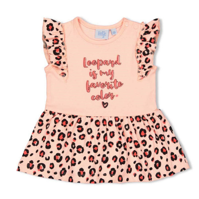 Feetje Jurk My Favorite - Leopard Love