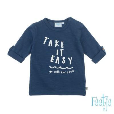 Longsleeve Take It Easy - Smile & Wave