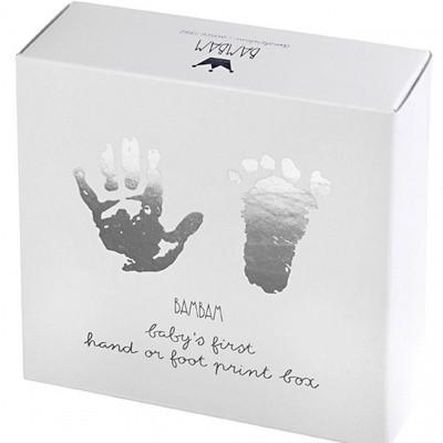 BamBam Hand- & voetafdruk met gips, complete set