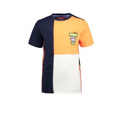 T&v T-shirt colour block WOLF