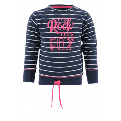 Born to be Famous sweater-stripe