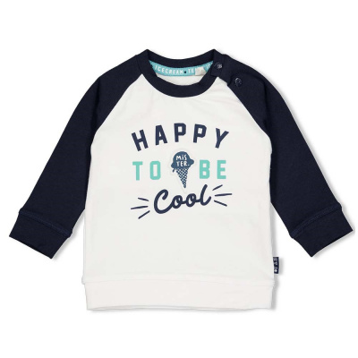 Feetje Sweater Happy - Team Icecream