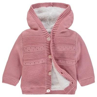 Noppies Girls Cardigan knit ls Valentijn